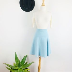 Club Monaco blue skirt